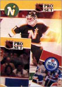 1990-91 Pro Set Kari Takko - A card that never was