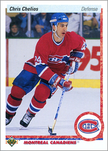 1990-91 Upper Deck #174 - Chris Chelios