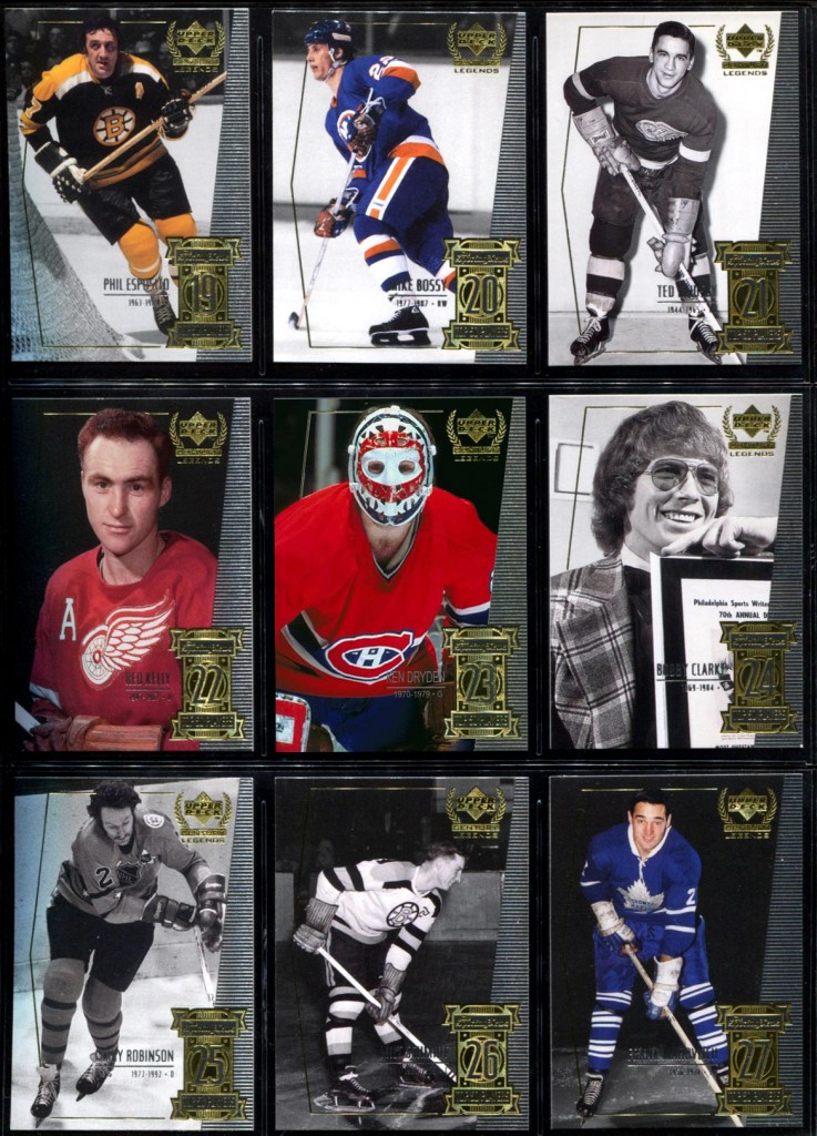 Custom Ken Dryden hockey card