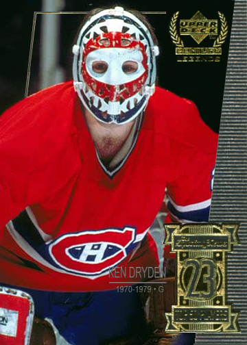 Custom Ken Dryden card