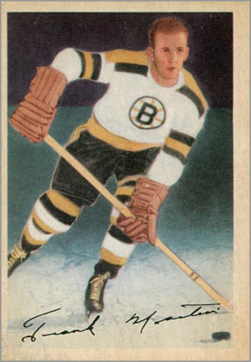 1953-54 Parkhurst #97 - William Frank Martin