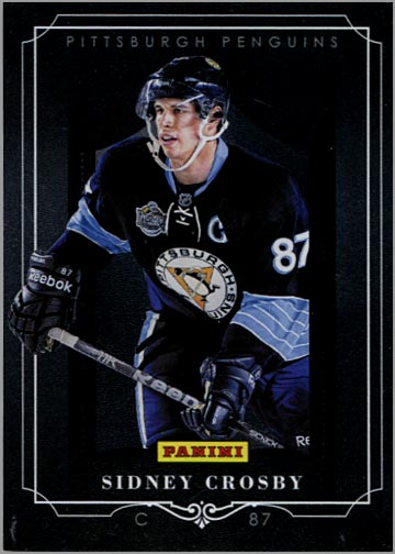 2011 Panini Black Friday #10 - Sidney Crosby