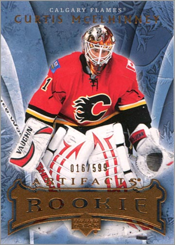 2007-08 Artifacts #211 - Curtis McElhinney