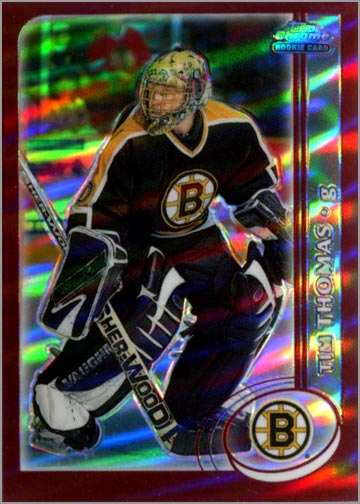 2002-03 Topps Chrome #162 - Tim Thomas