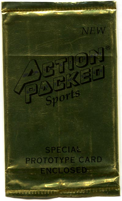 Action Packed Hockey Hall of Fame Promo Card Wrapper