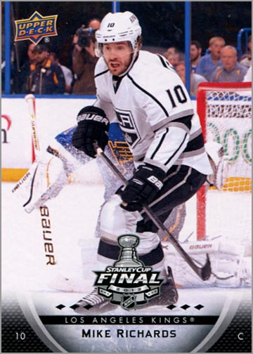 2011-12 L.A. Kings Stanley Cup Finals #2 - Mike Richards