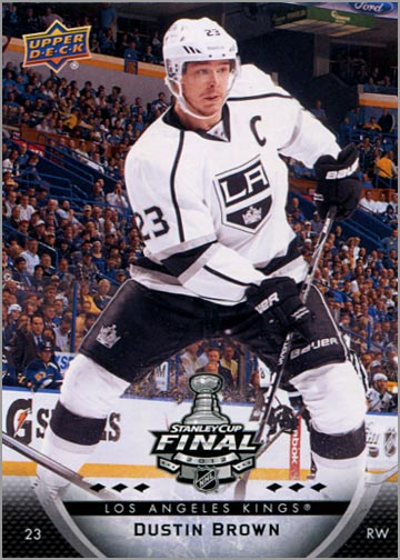2011-12 L.A. Kings Stanley Cup Finals #4 - Dustin Brown