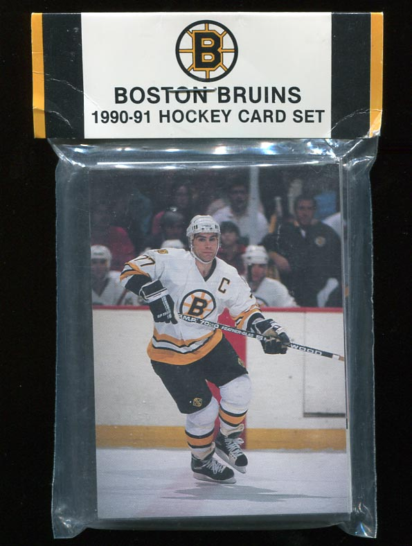 1990-91 Boston Bruins Team Set