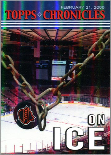 2005 Topps Chronicles #TC8 - On Ice