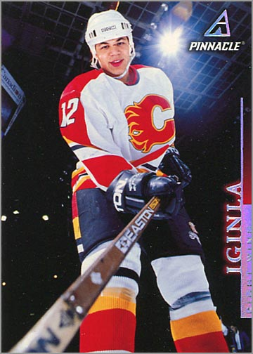 1997-98 Pinnacle #31 - Jarome Iginla