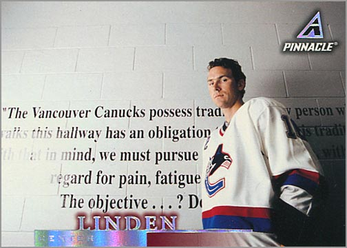 1997-98 Pinnacle #106 - Trevor Linden
