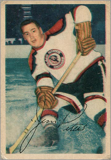 1953-54 Parkhurst #69 - Jim Peters