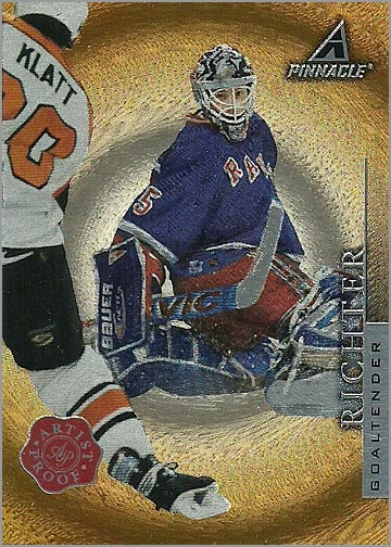 1997-98 PInnacle Artist Proof #55 - Mike Richter