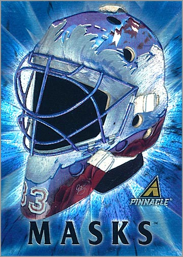 1997-98 Pinnacle Masks #5 - Patrick Roy