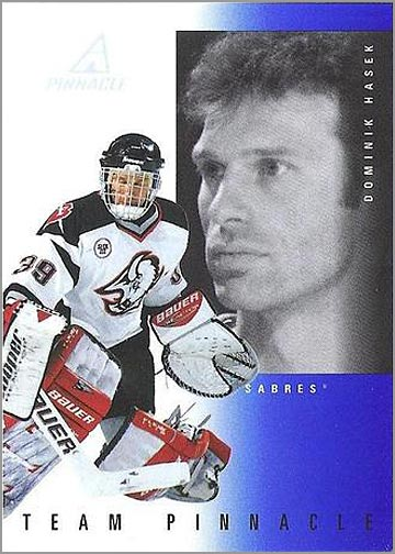 1997-98 Pinnacle Team Pinnacle #2 - Dominik Hasek & Curtis Joseph