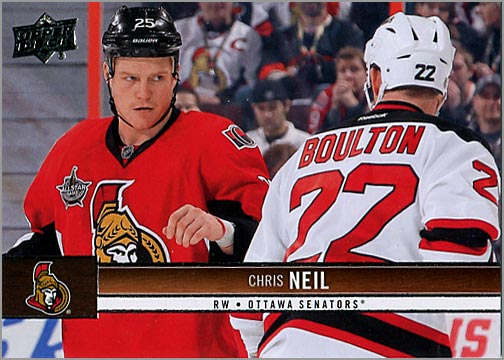 2012-13 Upper Deck #131 - Chris Neil