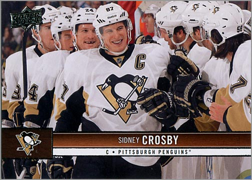 2012-13 Upper Deck #151 - Sidney Crosby