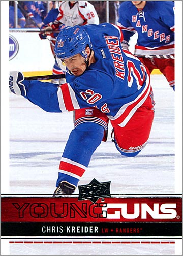 2012-13 Upper Deck #237 - Chris Kreider