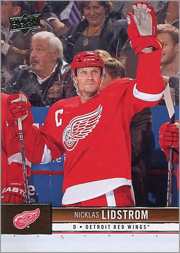 2012-13 Upper Deck #60 - Nicklas Lindstrom