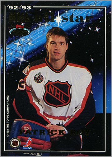 1993-94 Stadium Club All-Stars - Patrick Roy