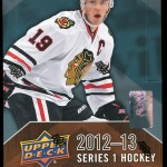2012-13 Upper Deck Series 1 Box Break