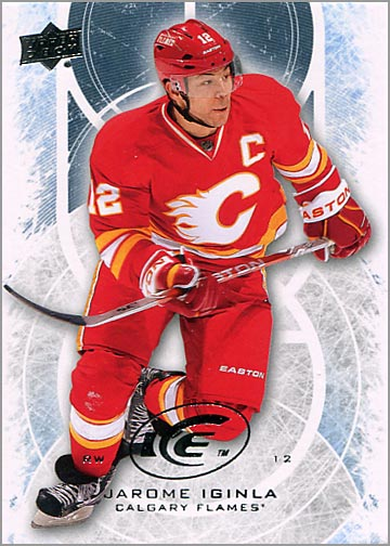 2012-13 Upper Deck Ice #4 - Jarome Iginla