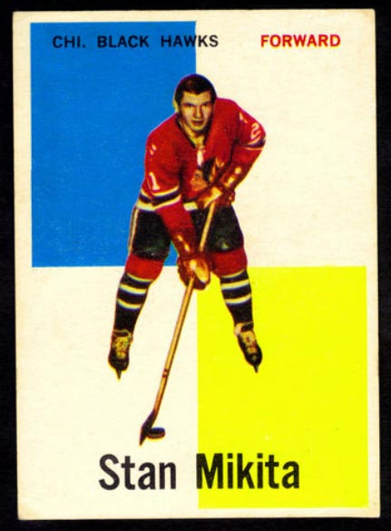 Stan Mikita Rookie Card