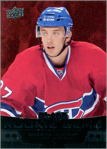 2012-13 Black Diamond #239 - Gabriel Dumont (Ruby Parallel)