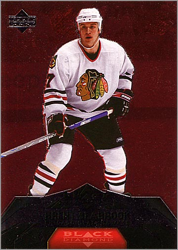 2007-08 Black Diamond #18 - Brent Seabrook