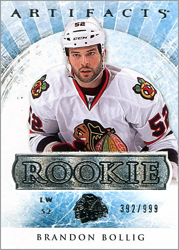 2012-13 Artifacts #161 - Brandon Bollig
