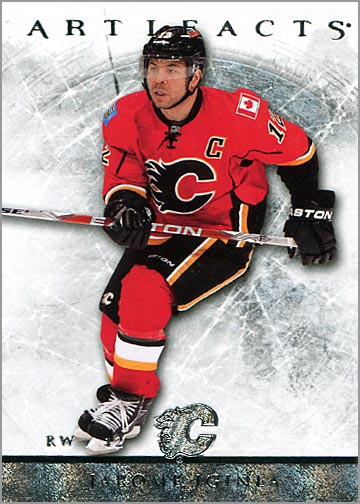 2012-13 Artifacts card #34 - Jarome Iginla