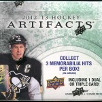 2012-13 Artifacts Box Break
