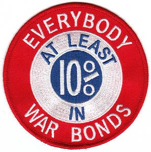 War Bonds Patch
