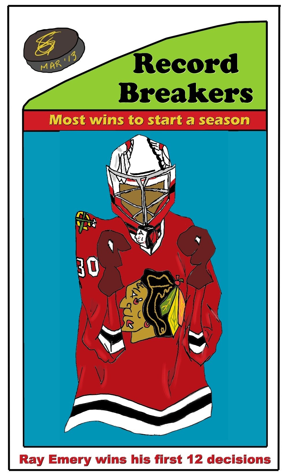 Card 'Toons: Ray Emery