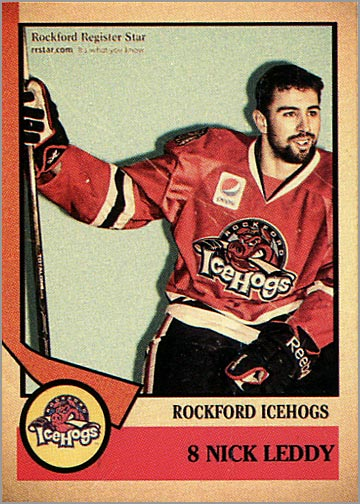 2012-13 Rockford IceHogs #8 - Nick Leddy