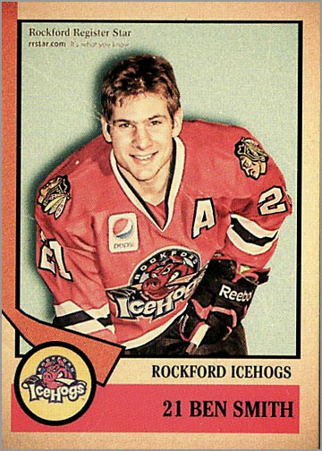 2012-13 Rockford IceHogs #21 - Ben Smith