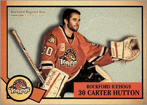 2012-13 Rockford IceHogs #30 - Carter Hutton