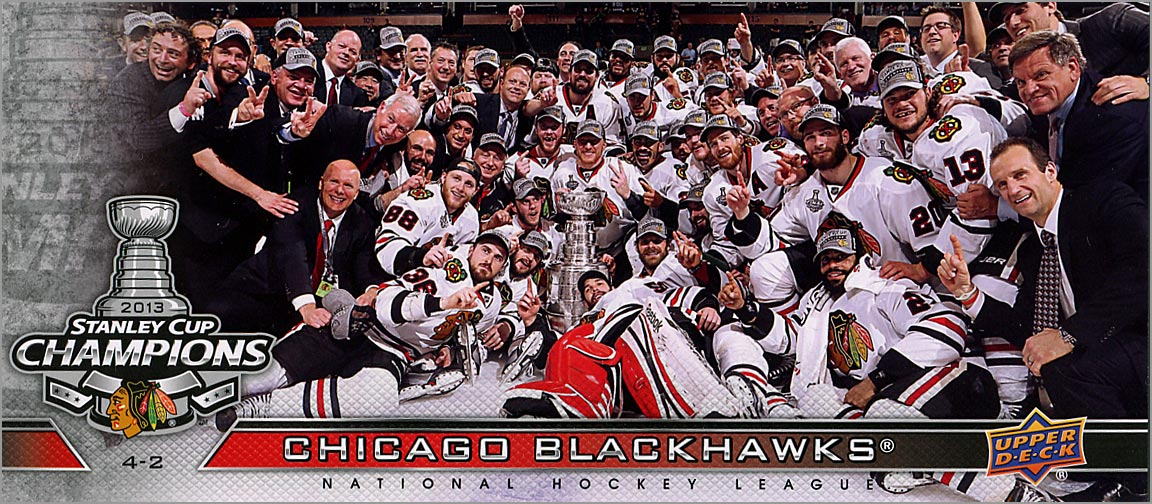 2013 Chicago Blackhawks Commemorative Box Set #SCC-CB - Chicago Blackhawks