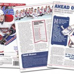 Provigo Canadiens Figurines article in November 2013 Beckett Hockey Magazine