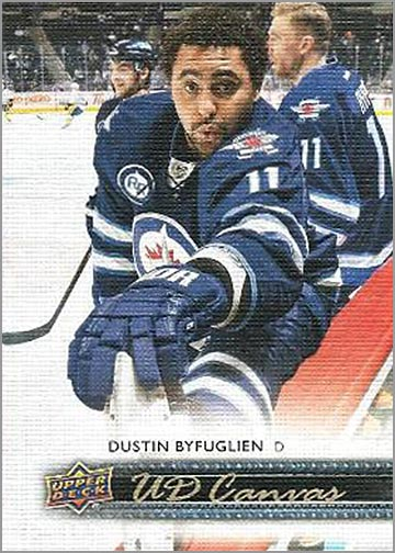 2014-15 Upper Deck Canvas #C88 - Dustin Byfuglien