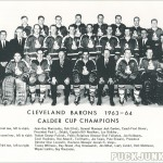 1963-64 Cleveland Barons Team Photo