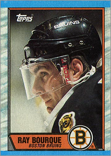 1989-90 Topps #110 - Ray Bourque