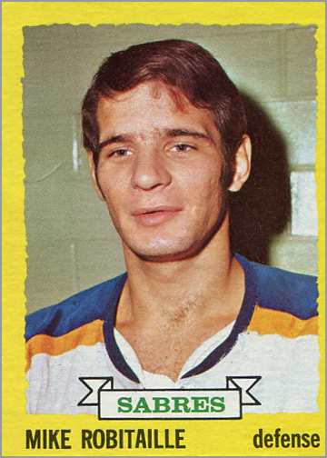 1973-74 Topps #121 - Mike Robitaille
