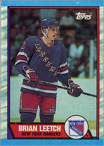 1989-90 Topps #136 - Brian Leetch
