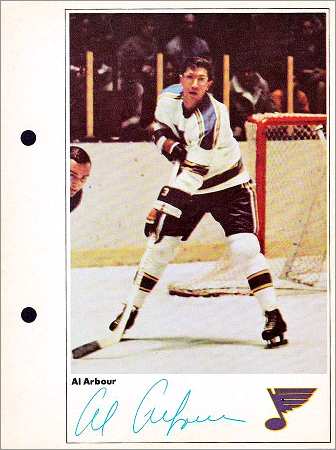 1971-72 Toronto Sun Action Photos - Al Arbour
