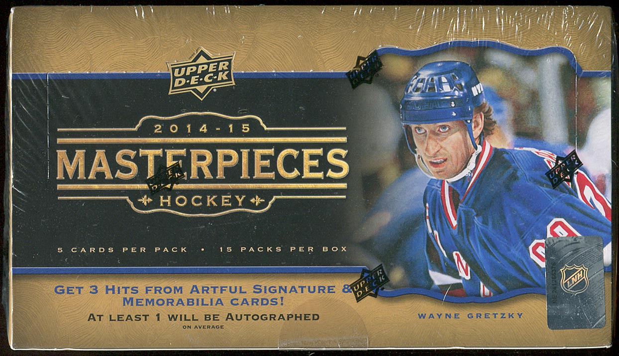 2014-15 Masterpieces Hockey Unopened Box