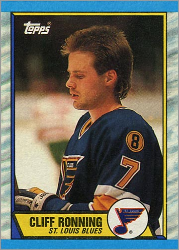 1989-90 Topps #45 - Cliff Ronning