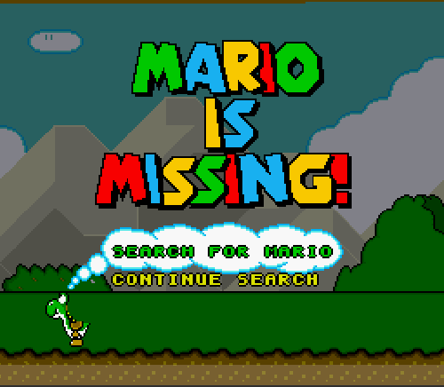 mario_is_missing