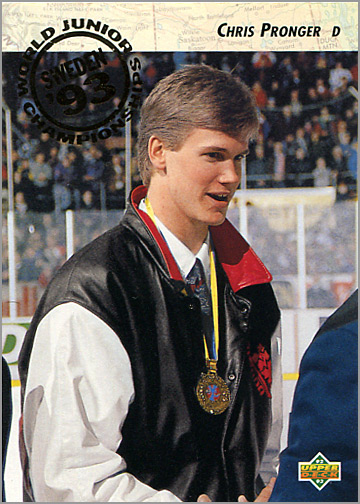 1992-93 Upper Deck #591 - Chris Pronger