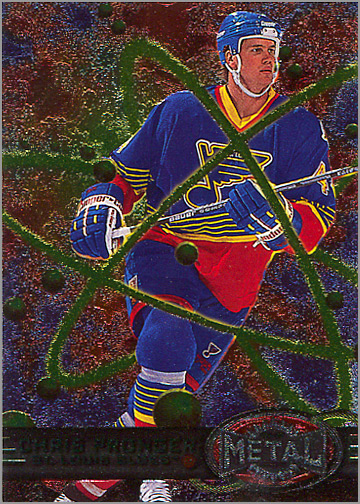 1996-97 Fleer Metal Universe #135 - Chris Pronger